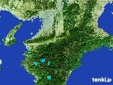 2017年01月26日の奈良県の雨雲レーダー
