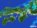 2017年01月27日の近畿地方の雨雲レーダー