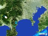 2017年01月27日の神奈川県の雨雲の動き