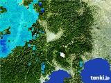 2017年01月27日の山梨県の雨雲の動き