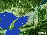 2017年01月28日の大阪府の雨雲レーダー