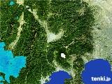 2017年01月29日の山梨県の雨雲の動き