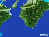 2017年01月29日の和歌山県の雨雲レーダー