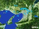 2017年01月30日の大阪府の雨雲レーダー
