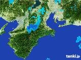 2017年02月01日の三重県の雨雲レーダー