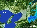 2017年02月01日の大阪府の雨雲レーダー