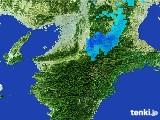 2017年02月01日の奈良県の雨雲レーダー