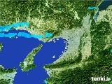 2017年02月03日の大阪府の雨雲レーダー