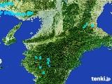 2017年02月03日の奈良県の雨雲レーダー