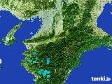 2017年02月04日の奈良県の雨雲レーダー