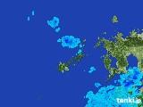 2017年02月04日の長崎県(五島列島)の雨雲レーダー