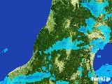 2017年02月05日の山形県の雨雲レーダー