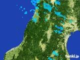 2017年02月08日の山形県の雨雲レーダー