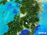 雨雲レーダー(2017年02月09日)