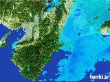 2017年02月09日の三重県の雨雲レーダー