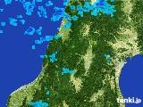 2017年02月10日の山形県の雨雲レーダー