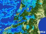 2017年02月11日の山形県の雨雲レーダー