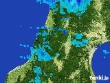 2017年02月15日の山形県の雨雲レーダー