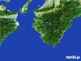 2017年02月18日の和歌山県の雨雲レーダー