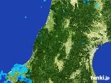 2017年02月19日の山形県の雨雲レーダー