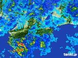 2017年02月20日の三重県の雨雲レーダー