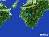 2017年02月21日の和歌山県の雨雲レーダー