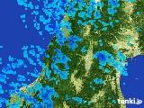 2017年02月21日の山形県の雨雲レーダー