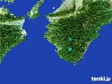 2017年02月24日の和歌山県の雨雲レーダー