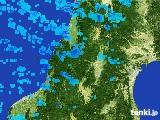 2017年02月24日の山形県の雨雲レーダー