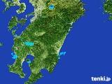 2017年02月26日の宮崎県の雨雲の動き