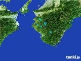 2017年02月27日の和歌山県の雨雲レーダー