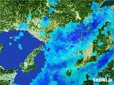 2017年03月01日の大阪府の雨雲レーダー