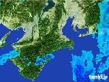 2017年03月02日の三重県の雨雲レーダー