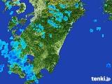 2017年03月02日の宮崎県の雨雲の動き