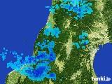 2017年03月03日の山形県の雨雲レーダー