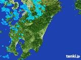 2017年03月08日の宮崎県の雨雲の動き