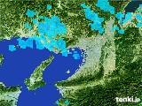 2017年03月09日の大阪府の雨雲レーダー