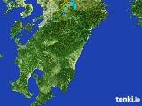 2017年03月11日の宮崎県の雨雲の動き