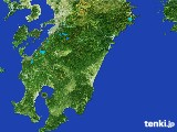 2017年03月15日の宮崎県の雨雲の動き