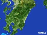 2017年03月16日の宮崎県の雨雲の動き