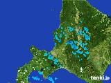 2017年03月18日の道央の雨雲の動き