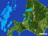 2017年03月21日の道央の雨雲の動き