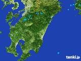 2017年03月21日の宮崎県の雨雲の動き