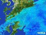 2017年03月25日の宮崎県の雨雲の動き