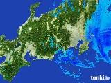 2017年03月27日の関東・甲信地方の雨雲レーダー