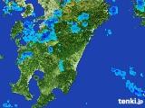 2017年03月27日の宮崎県の雨雲の動き