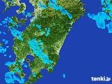 2017年03月29日の宮崎県の雨雲の動き
