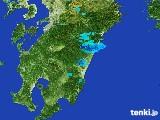 2017年04月01日の宮崎県の雨雲の動き