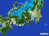 2017年04月03日の関東・甲信地方の雨雲レーダー