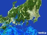 2017年04月08日の関東・甲信地方の雨雲レーダー